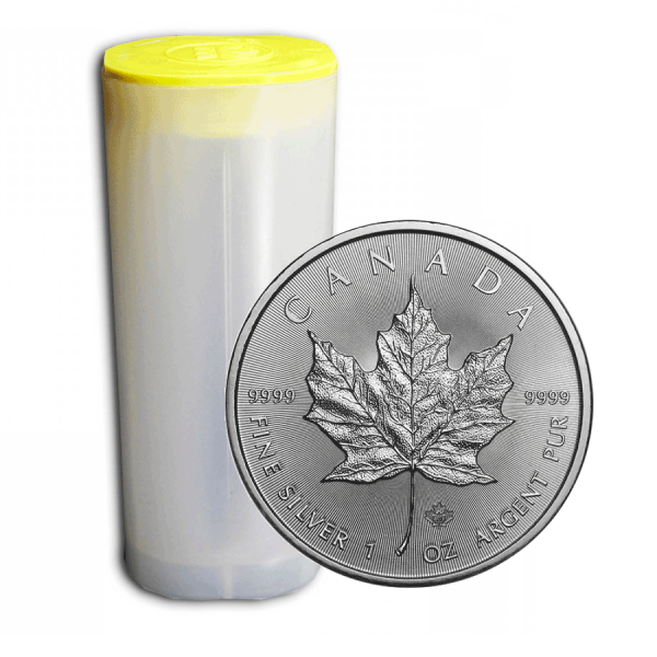 25 x 1 Oz Canadian Maple Leaf (Random Year)