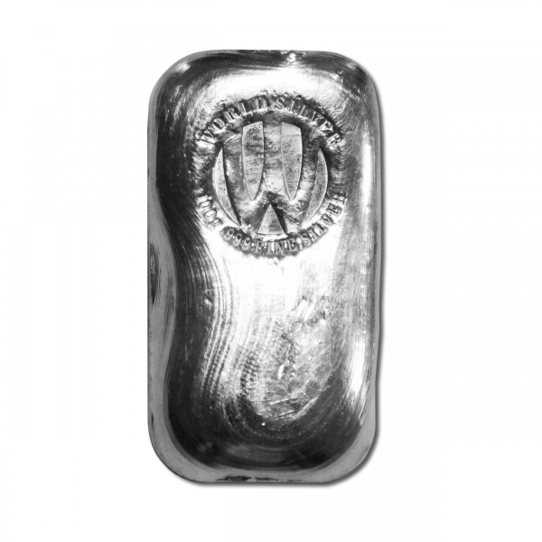 100g Rustic World Silver Bar (With COA)