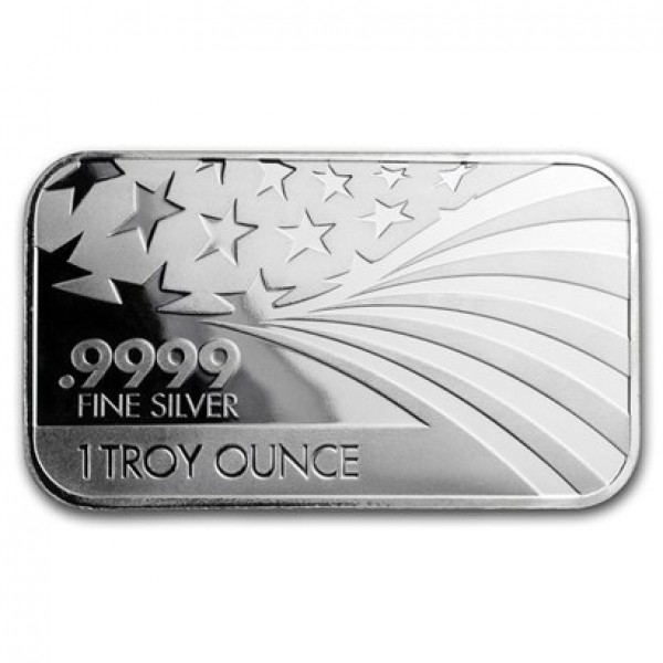 1 Oz Apmex/RMC Co-branded Silver Bar