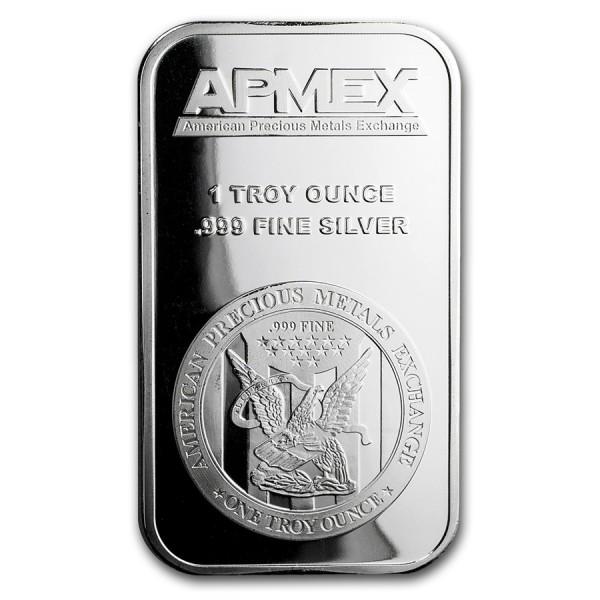 1 Oz Apmex Silver Bar