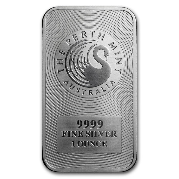 1 Oz Perth Mint Kangaroo Silver Bar