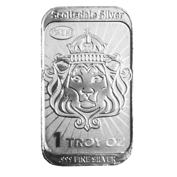 2013 1 Oz Scottsdale Niue Silver CoinBar