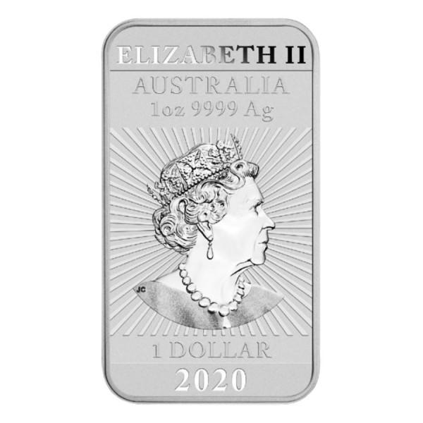 2020 1 Oz Australian Dragon Coinbar
