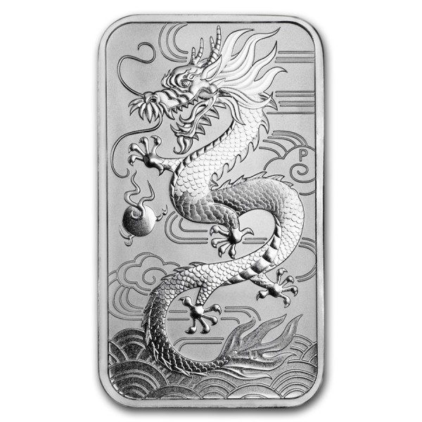 1 Oz Australian Dragon Coinbar (Random Year)