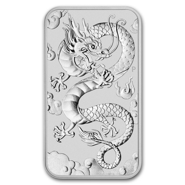 2019 1 Oz Australian Dragon Coinbar