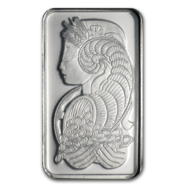 1g Mini Card Pamp Suisse Platinum Bar