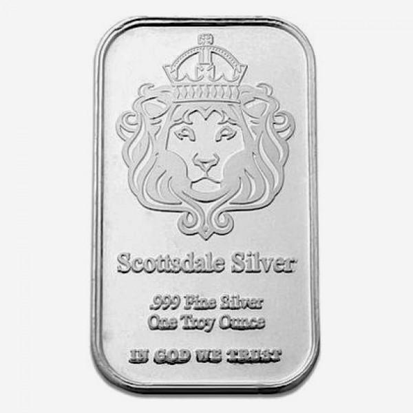 1 Oz Scottsdale The One Silver Bar