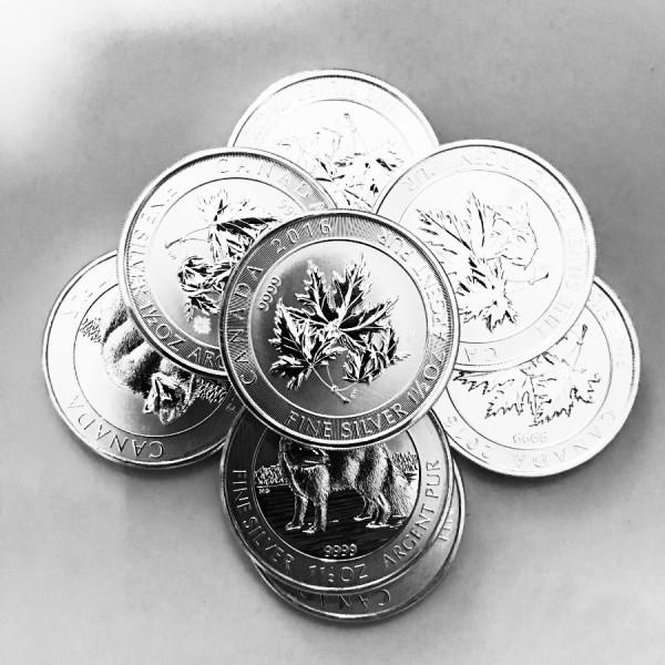 1.5 Oz Assorted .999 Fine Silver Coin