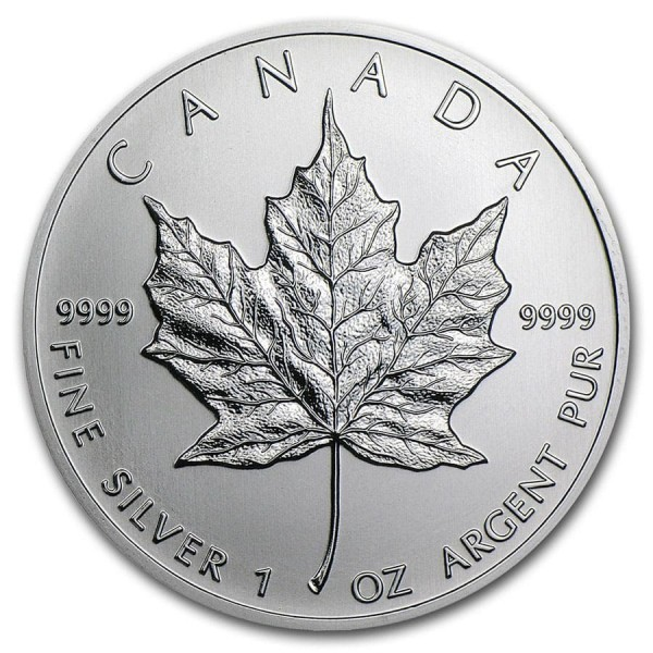 1 Oz Canadian Maple Leaf (Random Year)