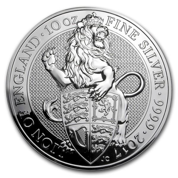 2017 10 Oz Uk Queen S Beasts The Lion