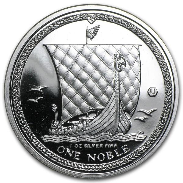 2011 1 Oz Silver Noble Isle of Man