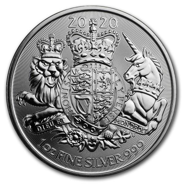 25 x 1 Oz UK The Royal Arms (Random Year)