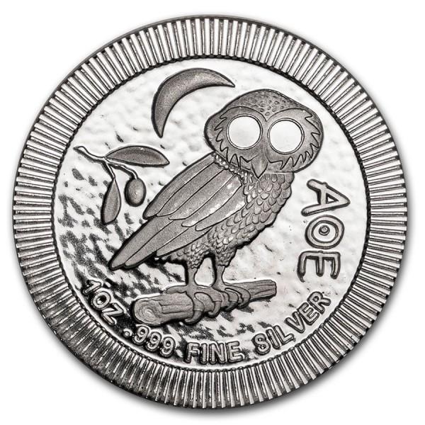 2020 1 Oz Niue Athena Owl