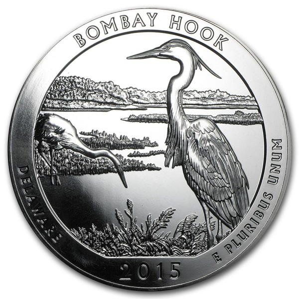 2015 5 Oz American Bombay Hook National Wild Life