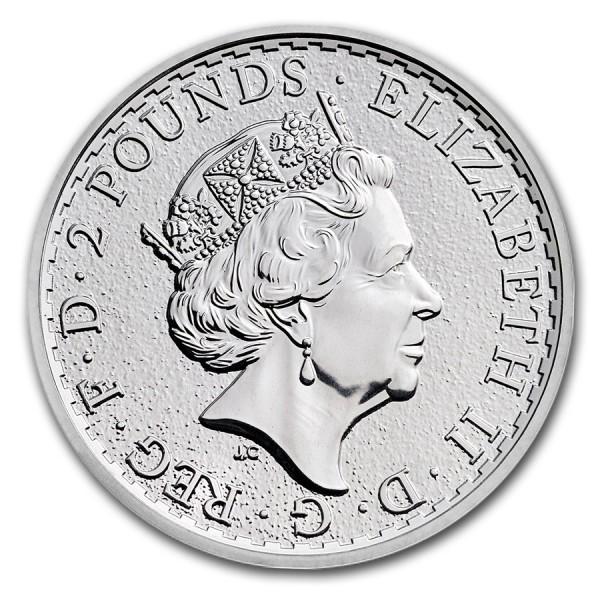 2017 1 Oz UK Silver Britannia