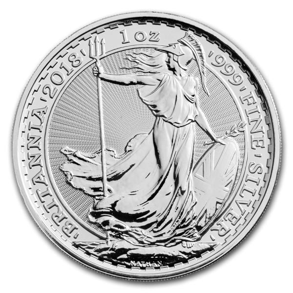 2018 1 Oz UK Silver Britannia
