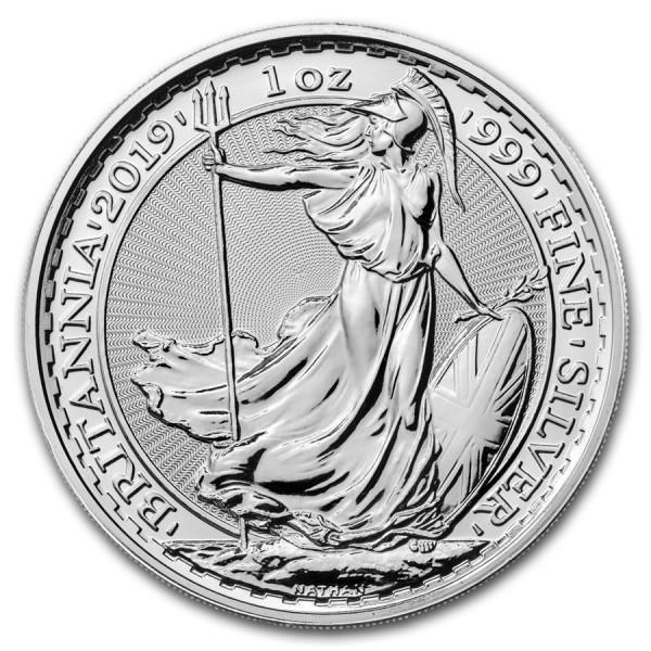 2019 1 Oz UK Silver Britannia