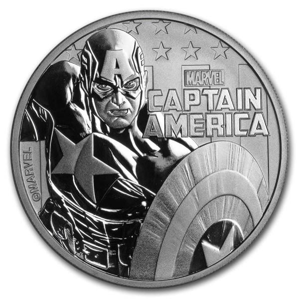 2019 1 Oz Marvel Series Captain America™