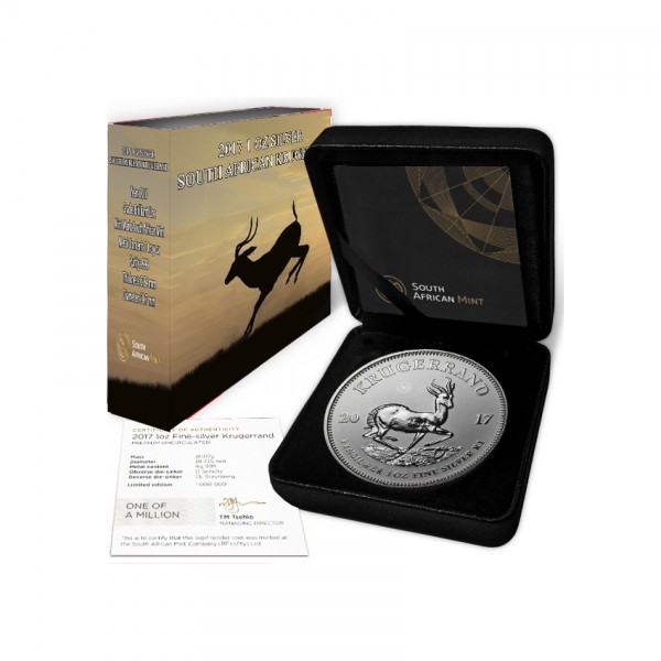 2017 1 Oz South African Krugerrand Deluxe Edition