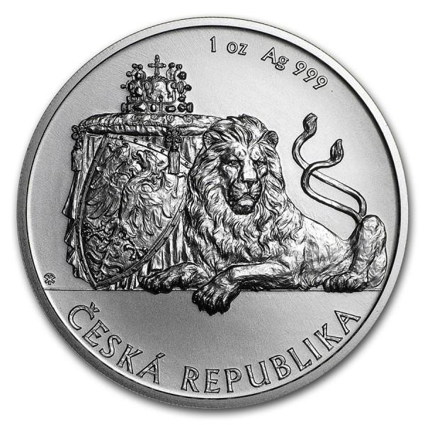 2018 1 Oz Czech Republic Lion