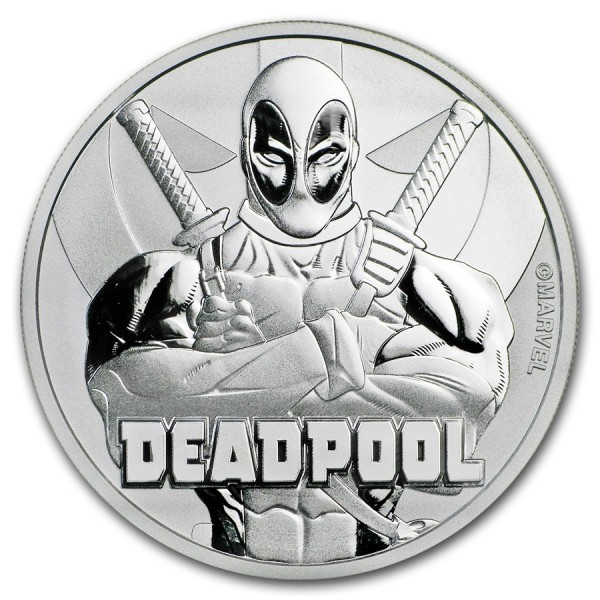 2018 1 Oz Marvel Series Deadpool™