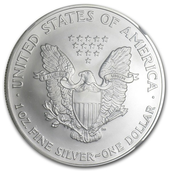2006 1 Oz NGC MS69 American Silver Eagle