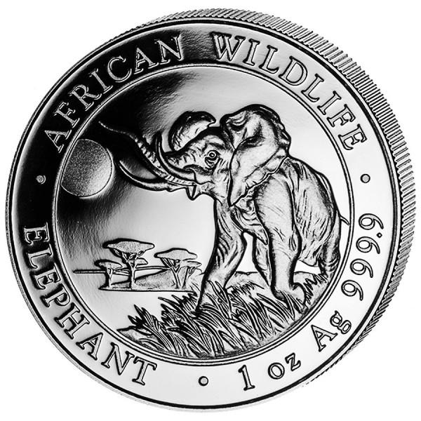 2016 1 Oz African Elephant