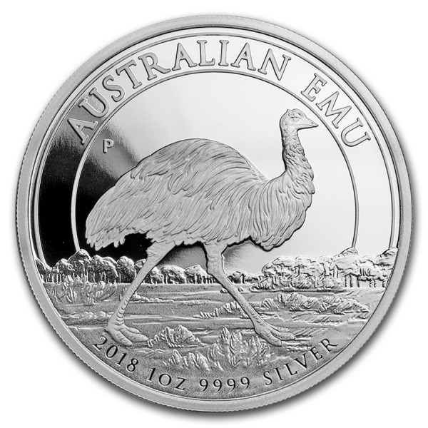 2018 1 Oz Australian Emu