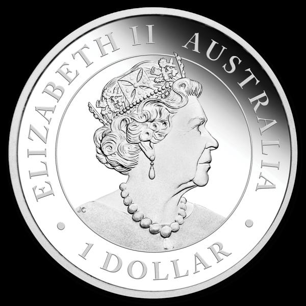 2019 1 Oz Australian Emu