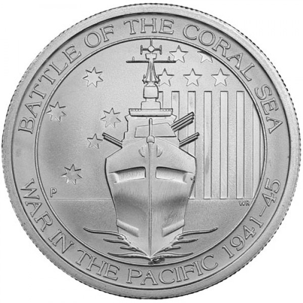 2014 1/2 Oz Battle of the Coral Sea