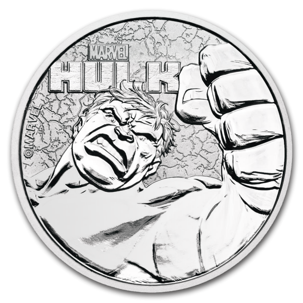 2019 1 Oz Marvel Series Hulk™