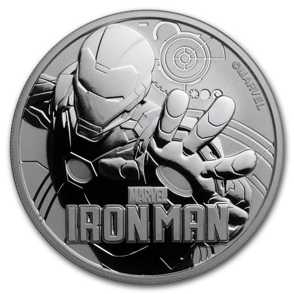 2018 1 Oz Marvel Series Iron Man™