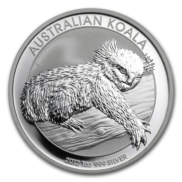 2012 1 Oz Australian Koala