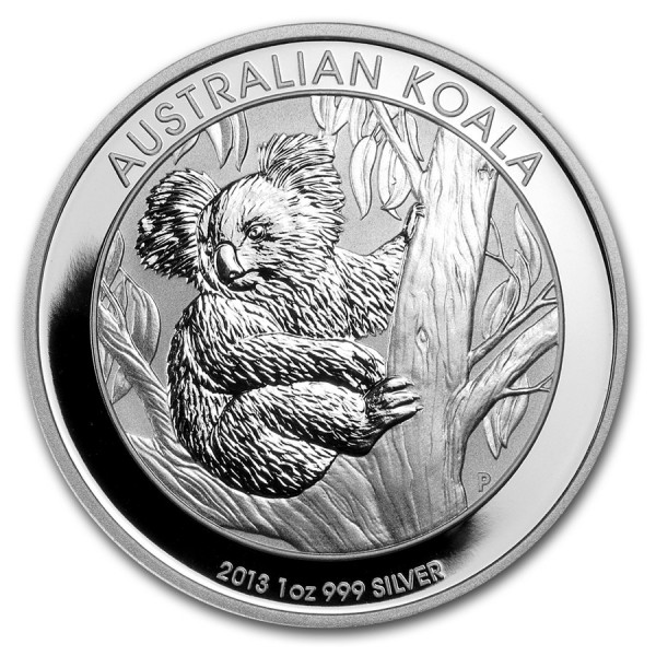 2013 1 Oz Australian Koala