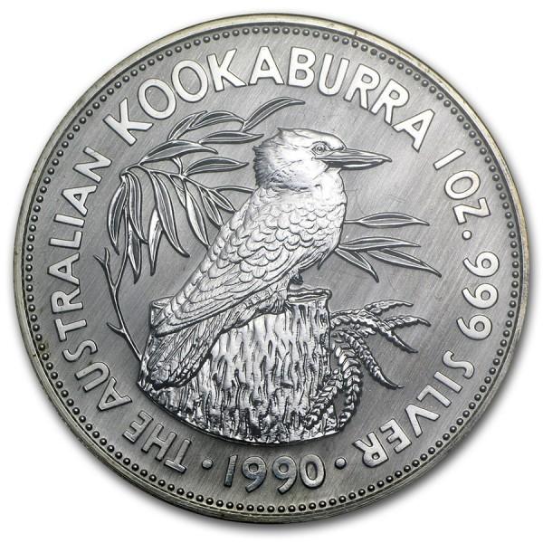 1990 1 Oz Australian Kookaburra