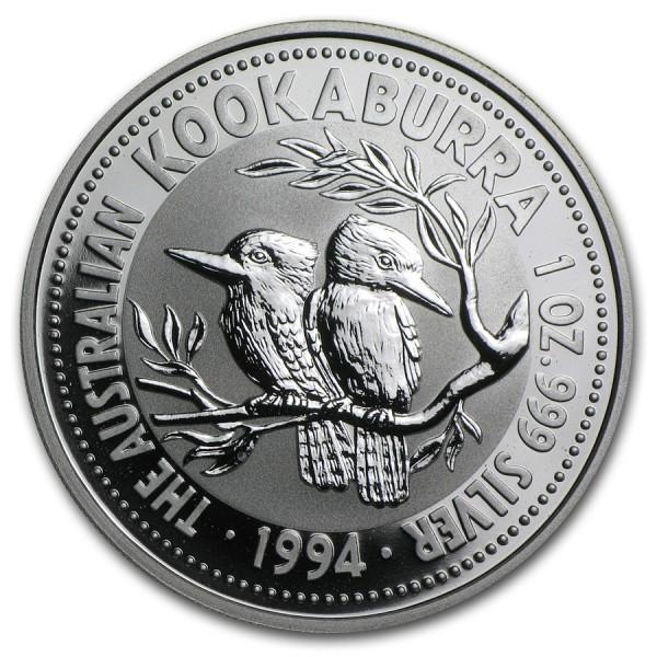 1994 1 Oz Australian Kookaburra