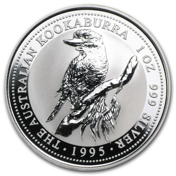 1995 1 Oz Australian Kookaburra