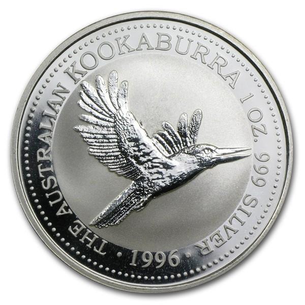 1996 1 Oz Australian Kookaburra