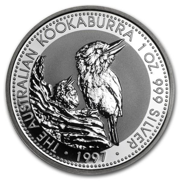1997 1 Oz Australian Kookaburra
