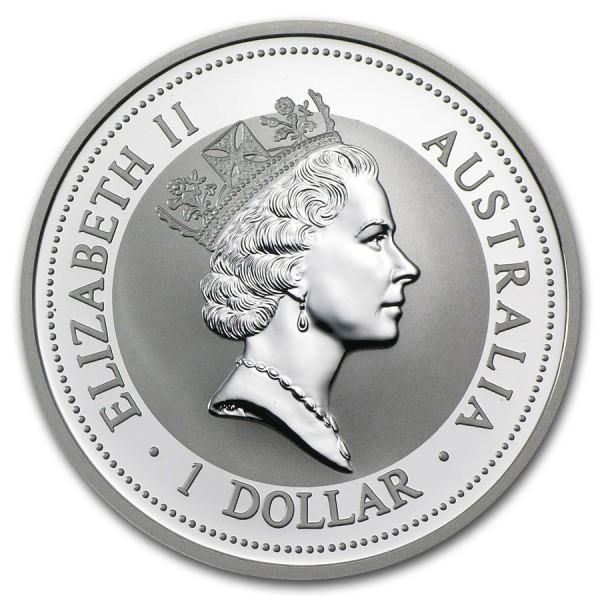 1998 1 Oz Australian Kookaburra