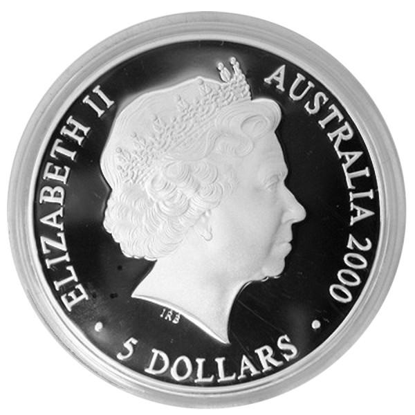 2000 1 Oz Australian Kookaburra Sydney Olympics