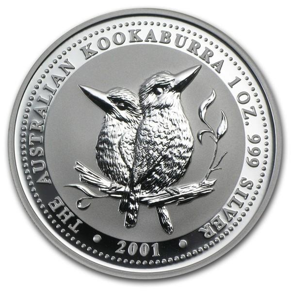 2001 1 Oz Australian Kookaburra