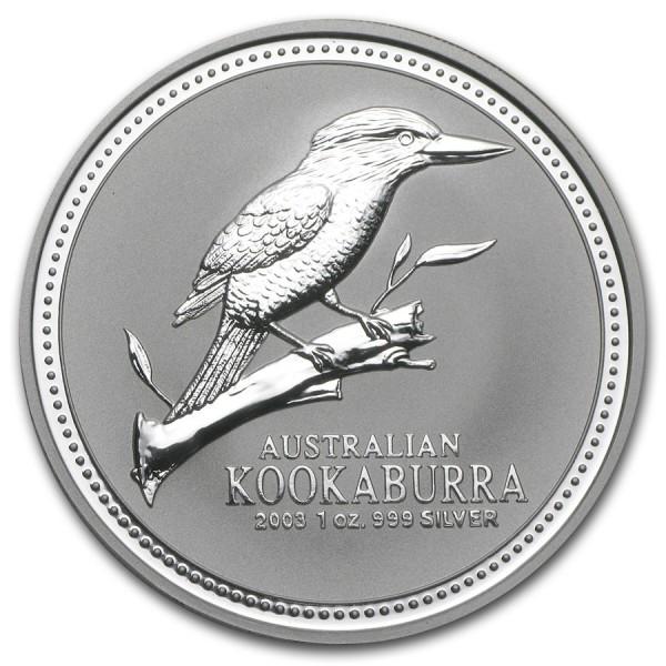 2003 1 Oz Australian Kookaburra
