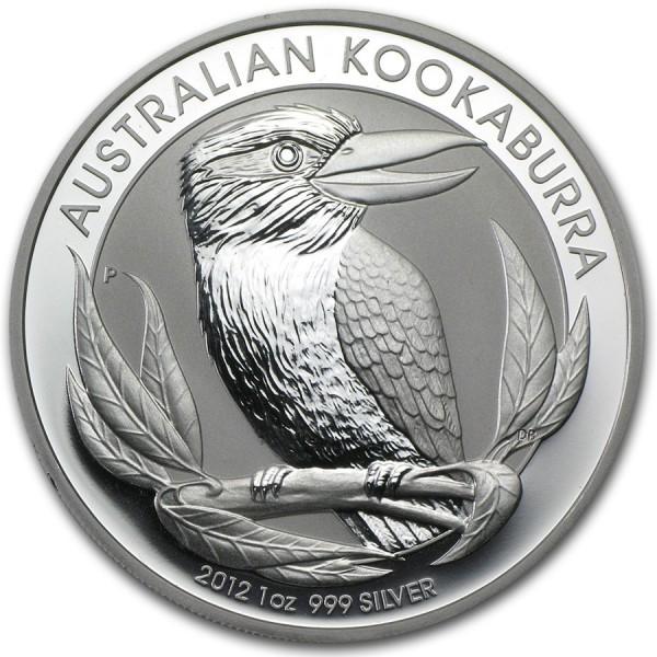 2012 1 Oz Australian Kookaburra