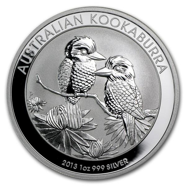2013 1 Oz Australian Kookaburra