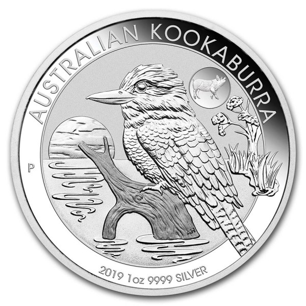2019 1 Oz Australian Kookaburra Pig Privy