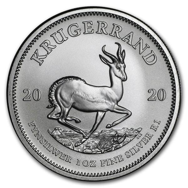 2020 1 Oz South Africa Silver Krugerrand
