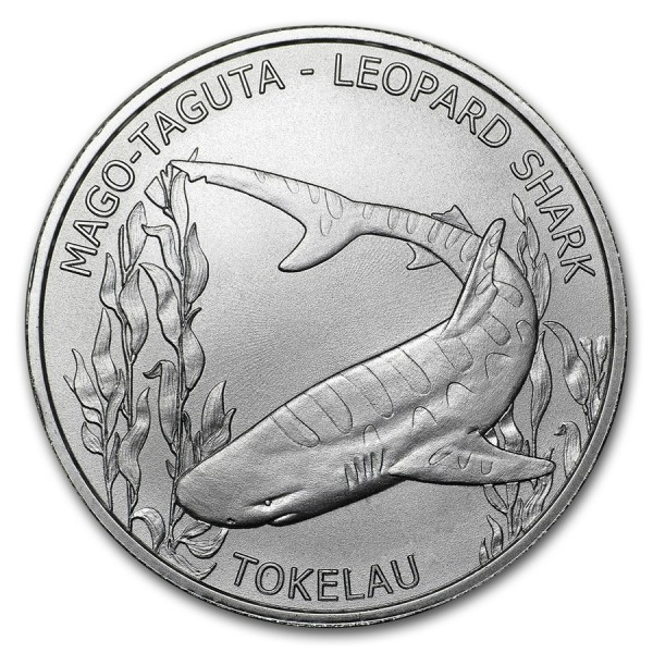 2018 1 Oz Tokelau Leopard Shark