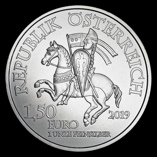 2019 1 Oz 825Th Anniversary Of Austrian Mint Leopold V