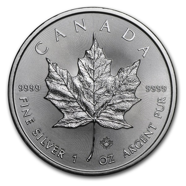 2017 1 Oz Canadian Maple Leaf